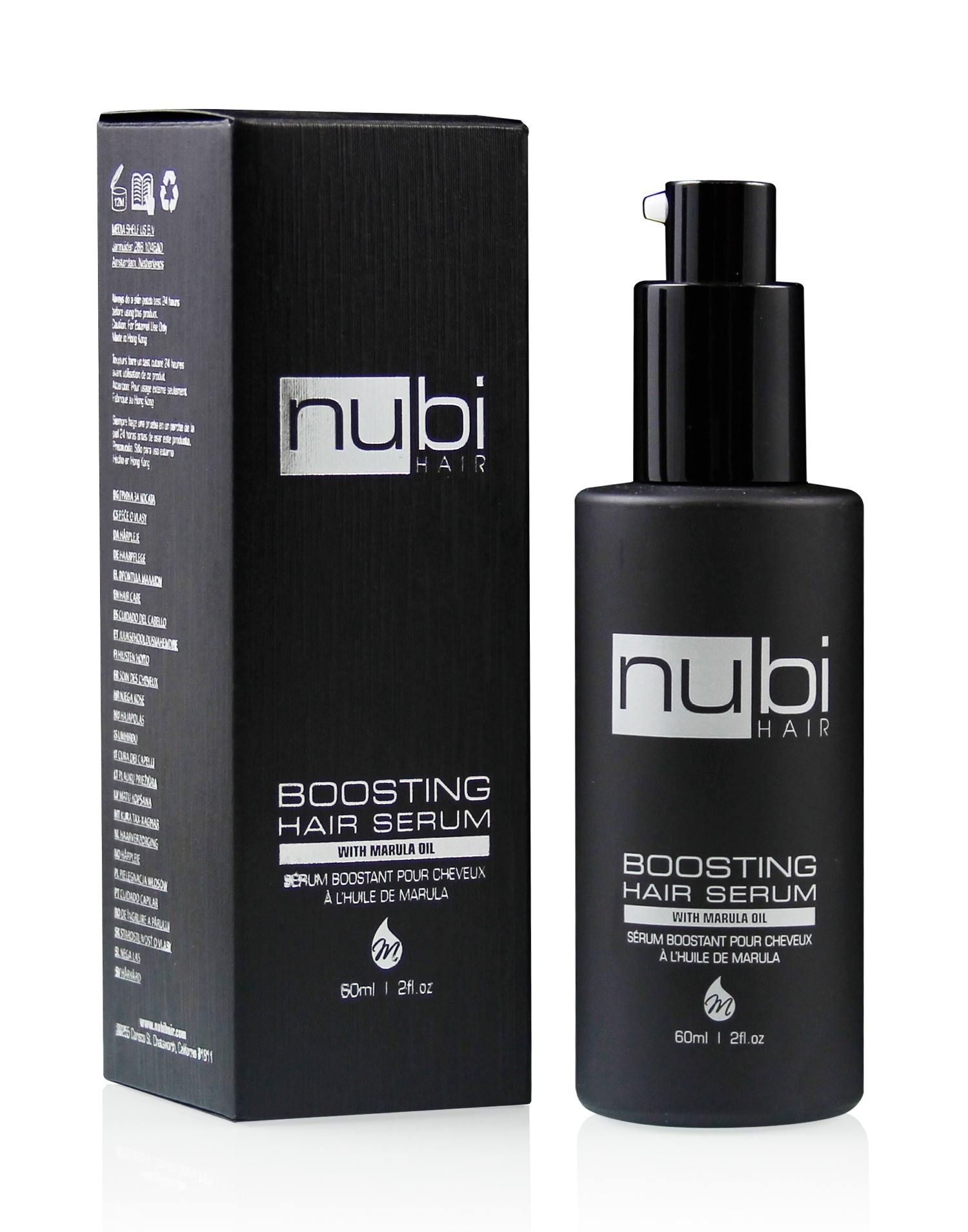 nubi hair serum with box