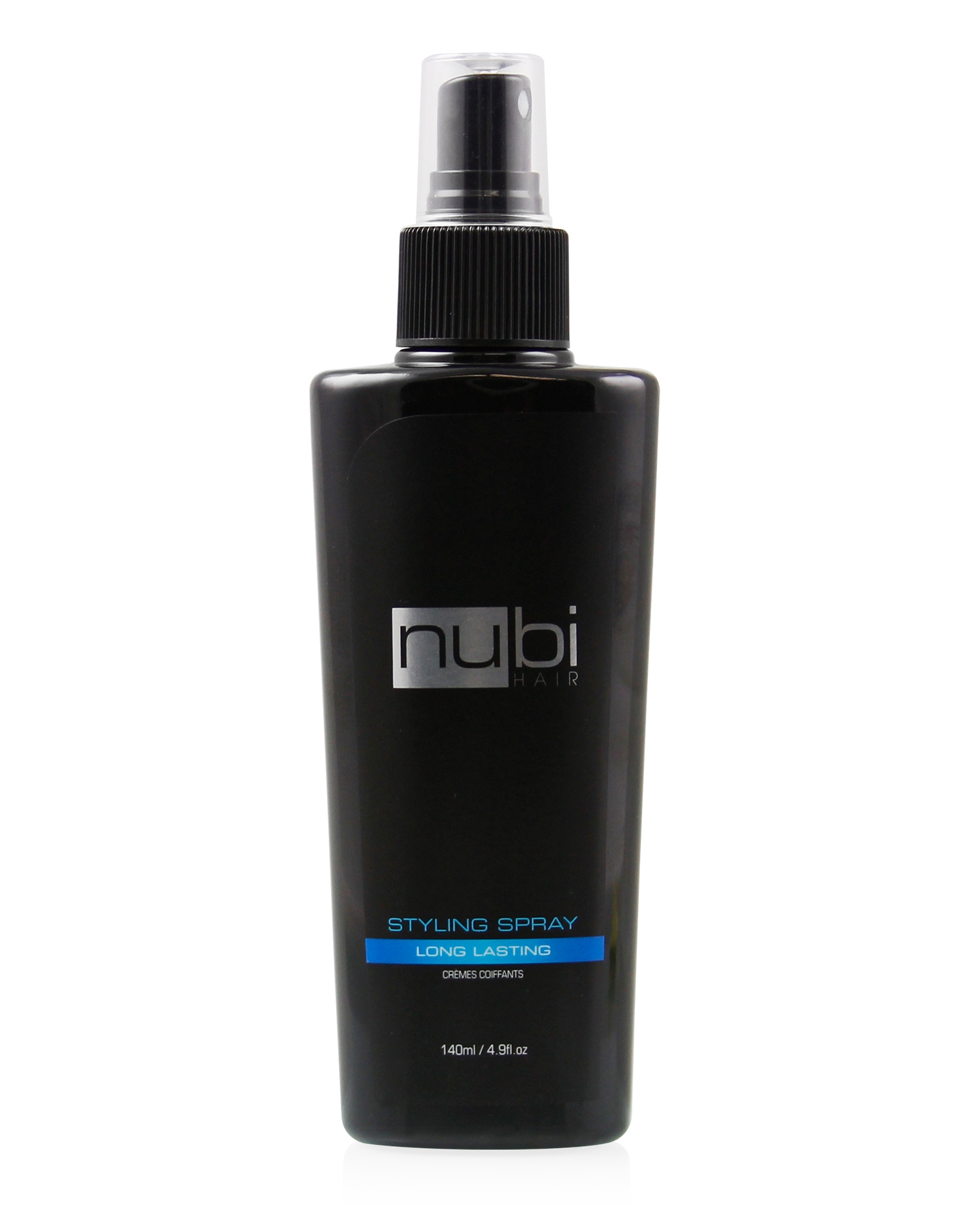 Nubi hair styling spray