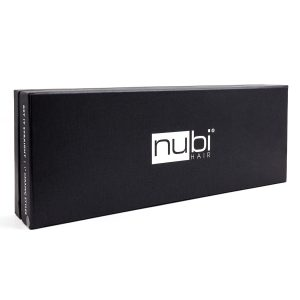 nubi hair get it straight ceramic straightener black box